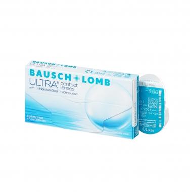 Контактные линзы Bausch & Lomb Ultra (3 шт.)