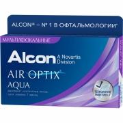 Контактные линзы Air Optix Aqua Multifocal (3 шт.)