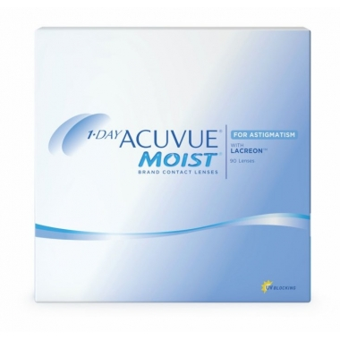 Контактные линзы 1-Day Acuvue Moist for Astigmatism (90 шт.)