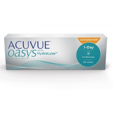 Контактные линзы  Acuvue Oasys 1-Day for Astigmatism (30 шт.)