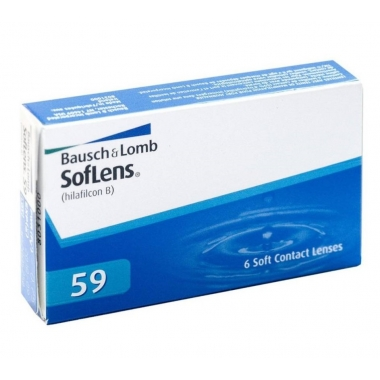 Контактные линзы Soflens 59 (6 шт.)
