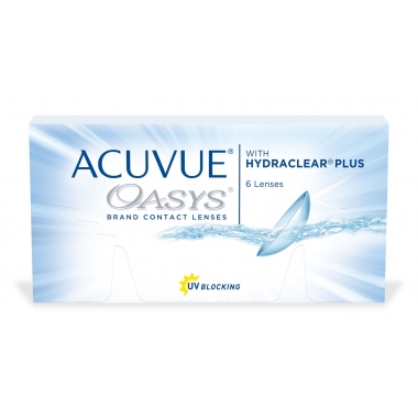 Контактные линзы Acuvue Oasys with Hydraclear (6 шт.)
