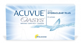 Контактные линзы Acuvue Oasys with Hydraclear Plus (1 шт.)